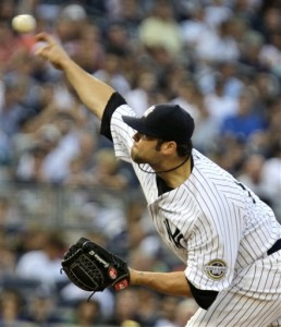 Joba delivers (AP Photo/Frank Franklin II)