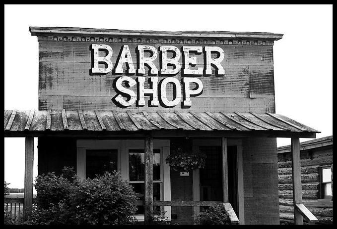 Barber Time : Been quite a show around here,? he was told.