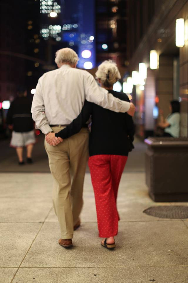 Image of: Elderly Couple From The Mostnecessary Tumblr Time Magazine Couple Walking Bronx Banter