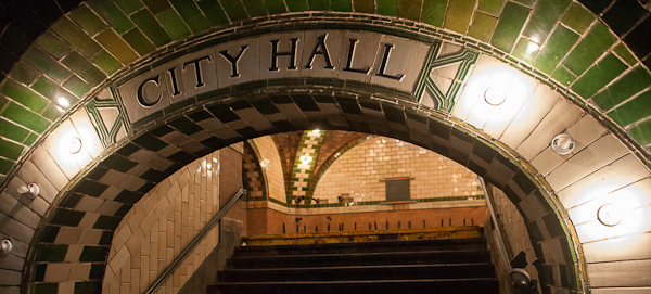New York City Hall Subway Station