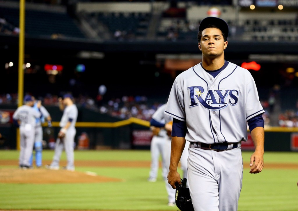 MLB: Tampa Bay Rays at Arizona Diamondbacks