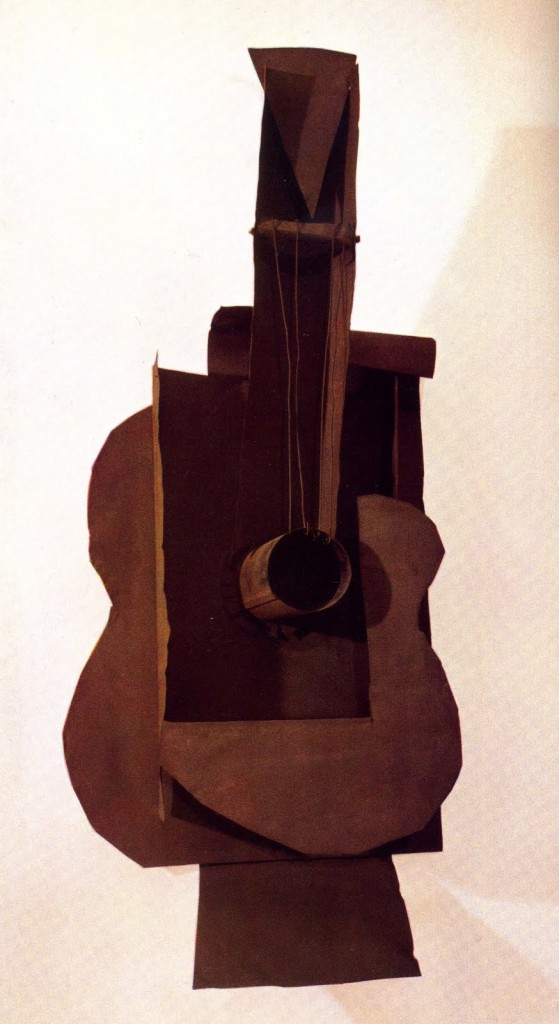 Picasso; Guitar, 1912