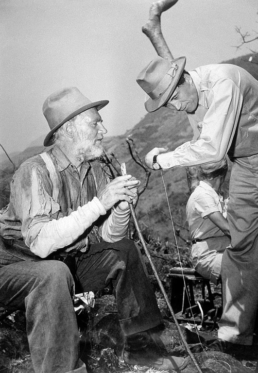 John Huston, Walter Huston