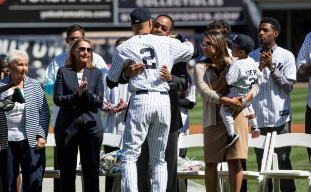 New York Yankees celebrate Derek Jeter Day at Yankee Stadium