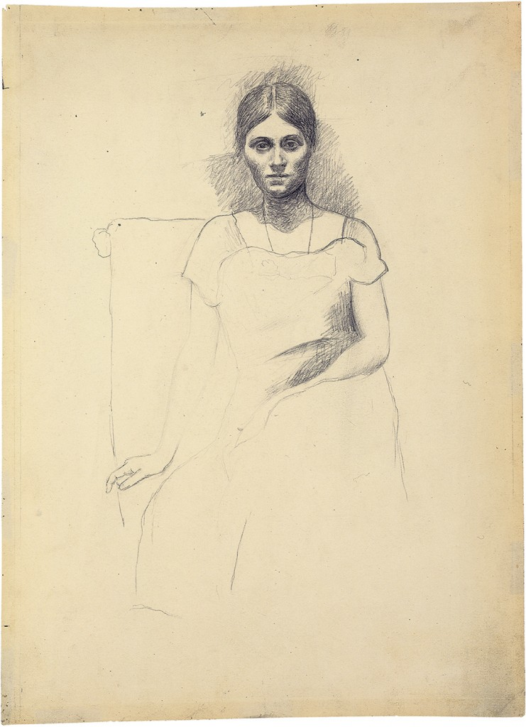 Pablo Picasso: Olga Picasso, Seated, autumn 1918