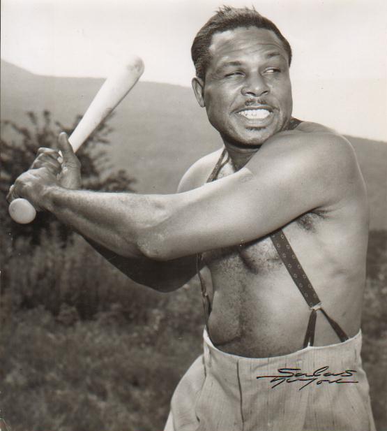 Moore,Archie swinging bat