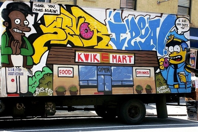 Sevor-and-ideal-graffiti-on-NYC-truck