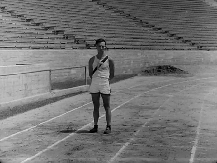 Buster Keaton - College (1927) sad athlete