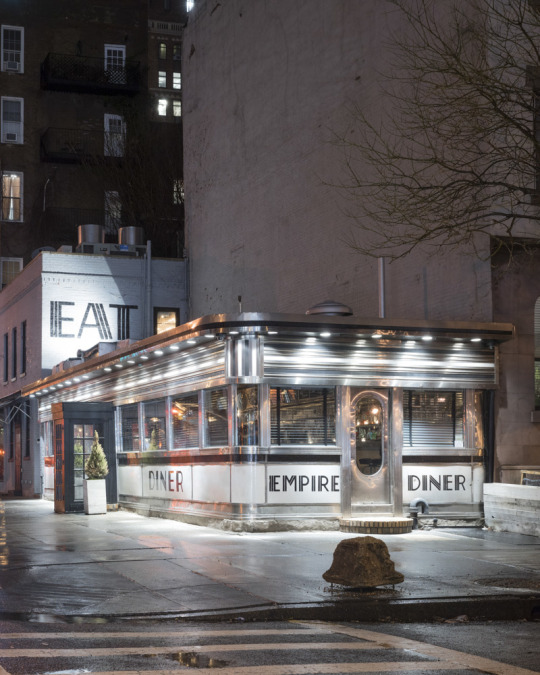 Empire Diner, Chelsea, New York, NY, 2015