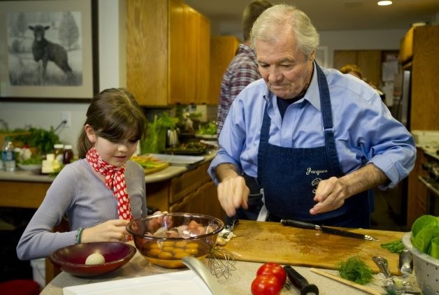 » jacques pepin Bronx Banter