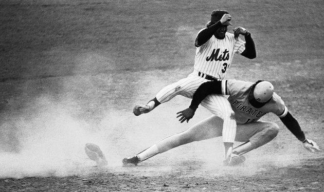 Baseball Pro;  Game; 1980  PIttsburgh  vs New York