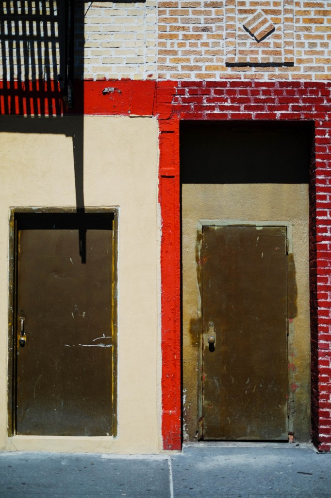 bags doorway