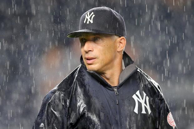 Joe Girardi in the Rain