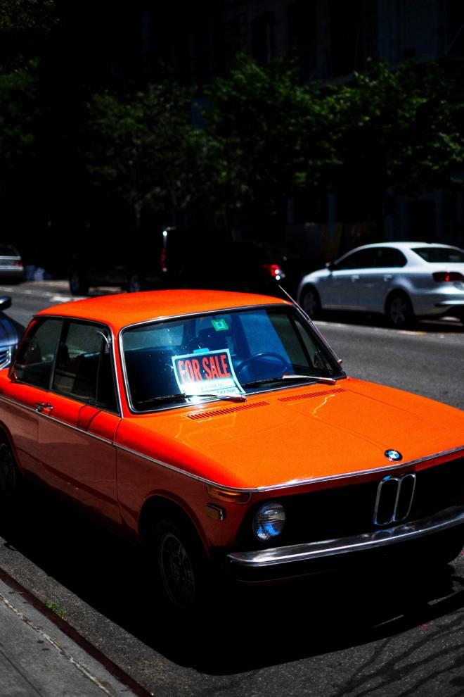 Orang BMW Bags