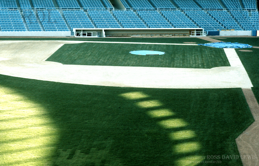 April 11, 1976—The new field.