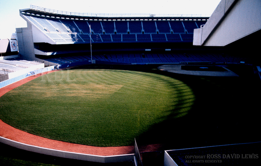 April 11, 1976—The new park, ready to roll.