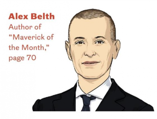Alex Belth illustration headshot