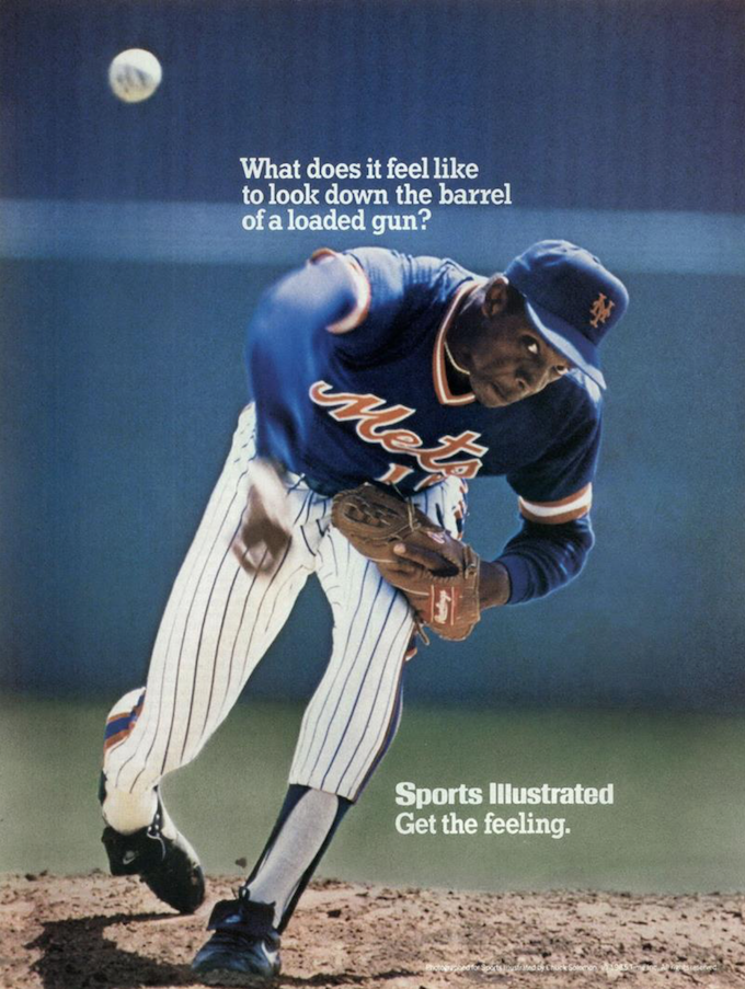 Doc Gooden Sports Illustrated Ad