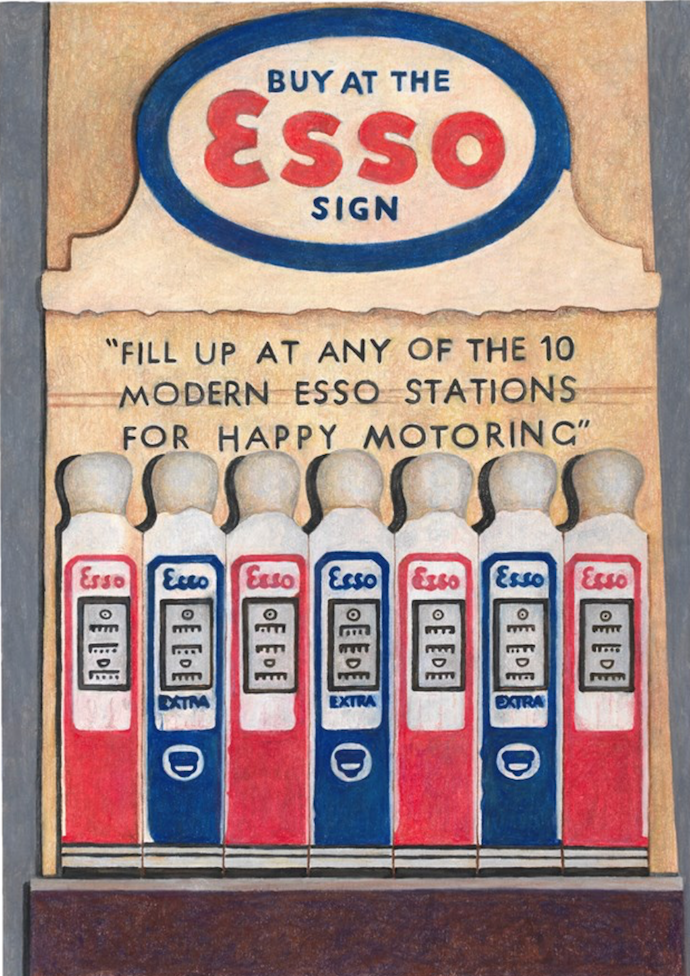 Esso Matchbooks