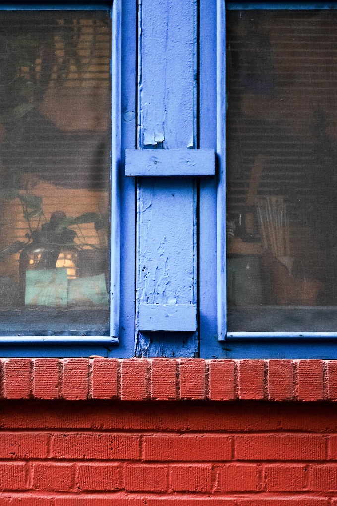 blue window bags